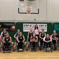 Scottish Women's Wheelchair Basketball Team triumphs in their sporting Debut
