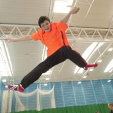 Inclusive Trampoline Takes A Leap Forward in Moray